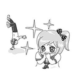 Spletna stran, kjer se japonščine naučite s pomočjo anime junakov