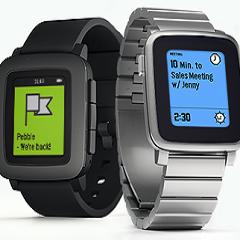 Pebble začel z dostavo novih pametnih ur