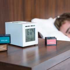 Budilka, ki vas zbudi z vonjem po kavi