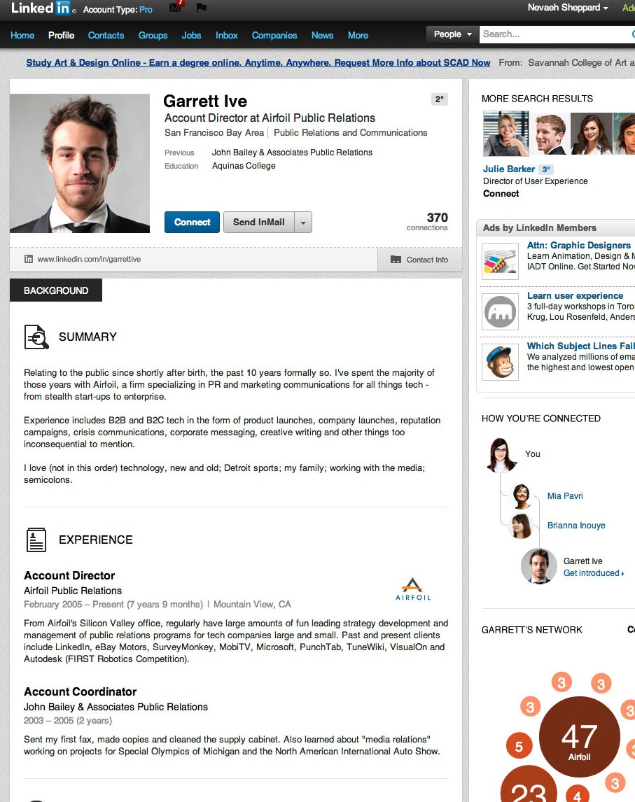 great dating profile summary Here's everything you need to write a great linkedin summary  two awesome linkedin summary examples (with  professional help with your profile,.