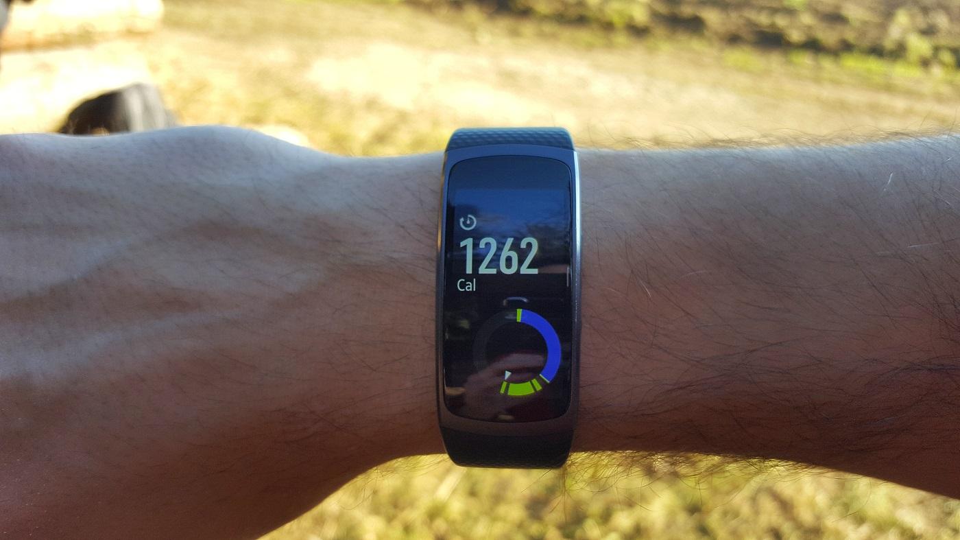 Samsung Gear Fit 2 24h log