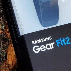 Test: pametna fitnes ura Samsung Gear Fit 2