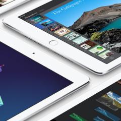 Apple predstavil namestnika za iPad Air 2