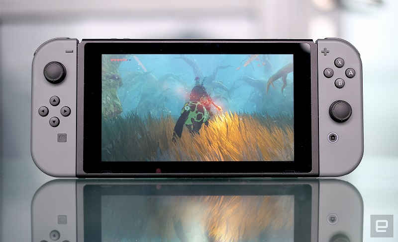 Nintendo spet konkurira drugim na podlagi svoje inovativnosti in drugačnosti. Vir: Engadget