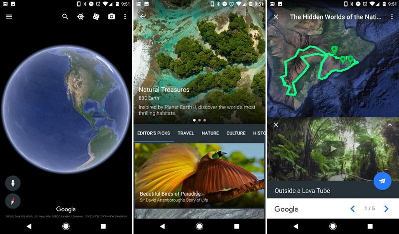 Tudi Android aplikacija je dobila prenovo.