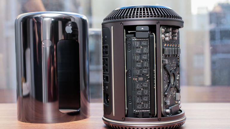 Apple je v želji po drznosti storil napako, saj jih cilindrična oblika ohišja omejuje pri izboljšanju računalnika. Vir: CNET