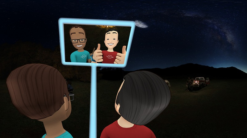 Znotraj Spaces bomo lahko snemali celo selfije.