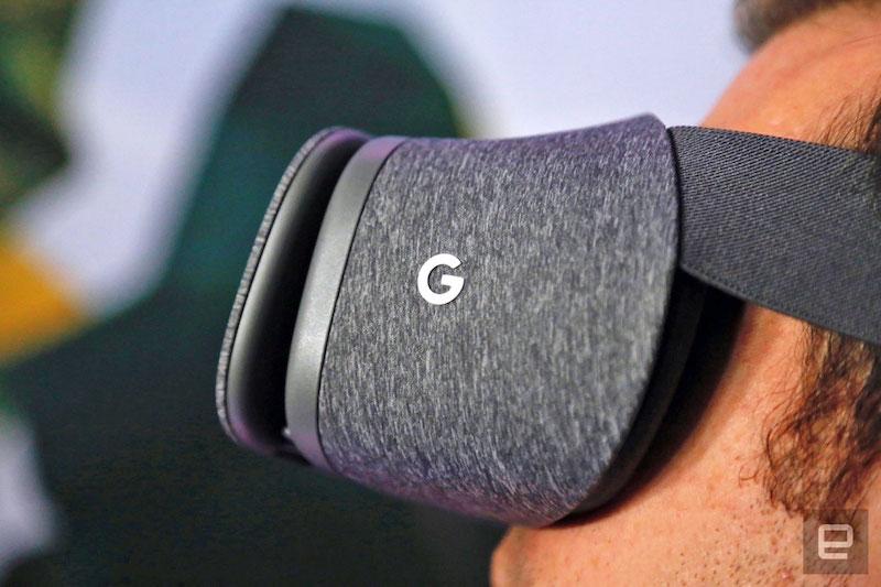 Očala Daydream VR bodo verjetno dobila še kakšno oblikovno novost. Vir: Engadget